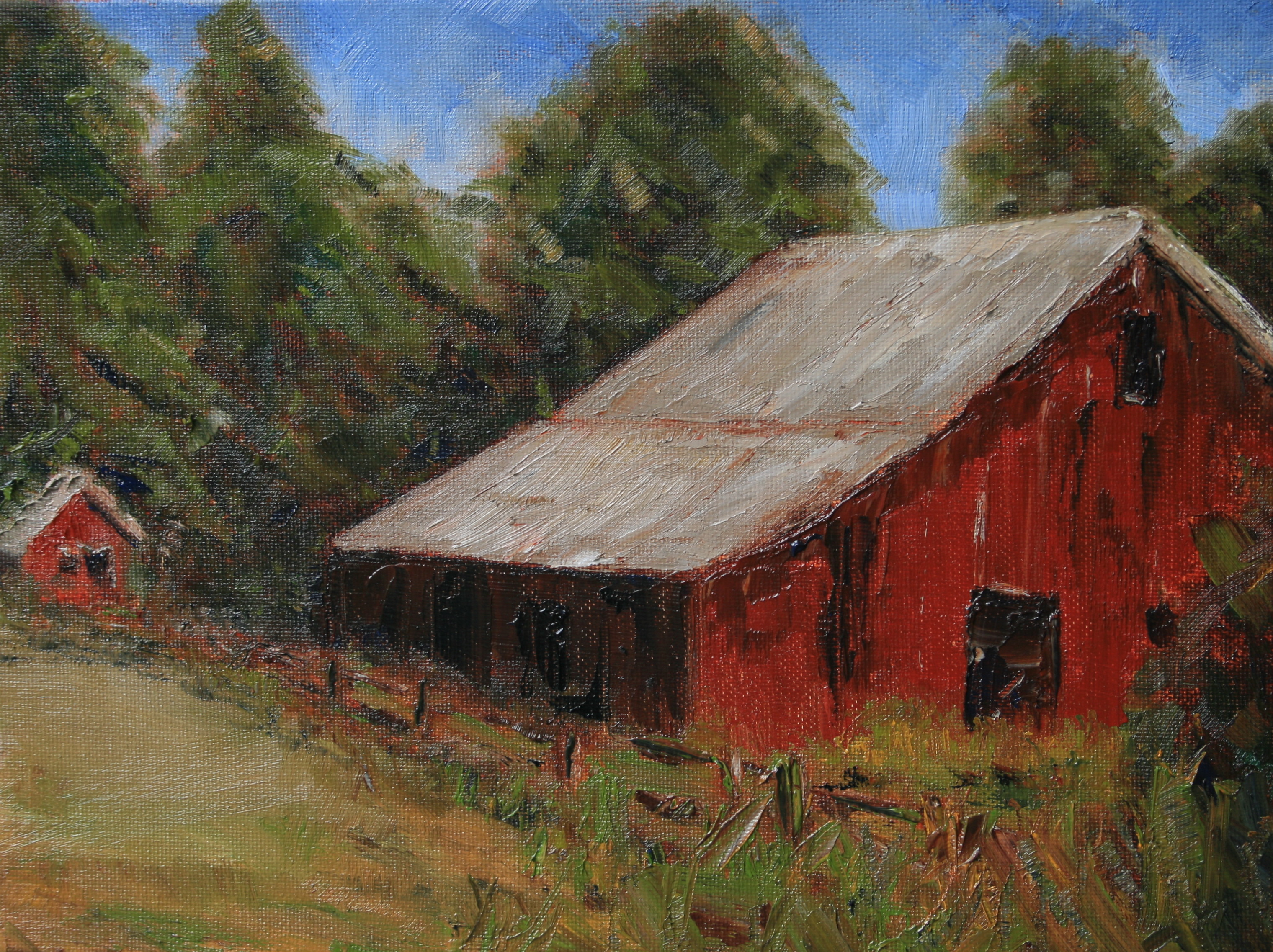 Bob Baker Barn Waupaca County Wisconsin Art Out The