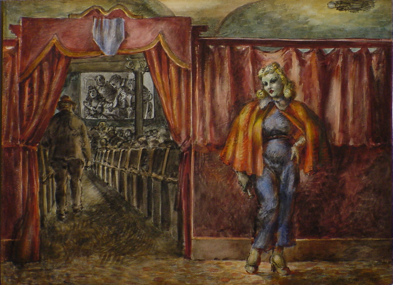 Reginald Marsh Famous Paintings