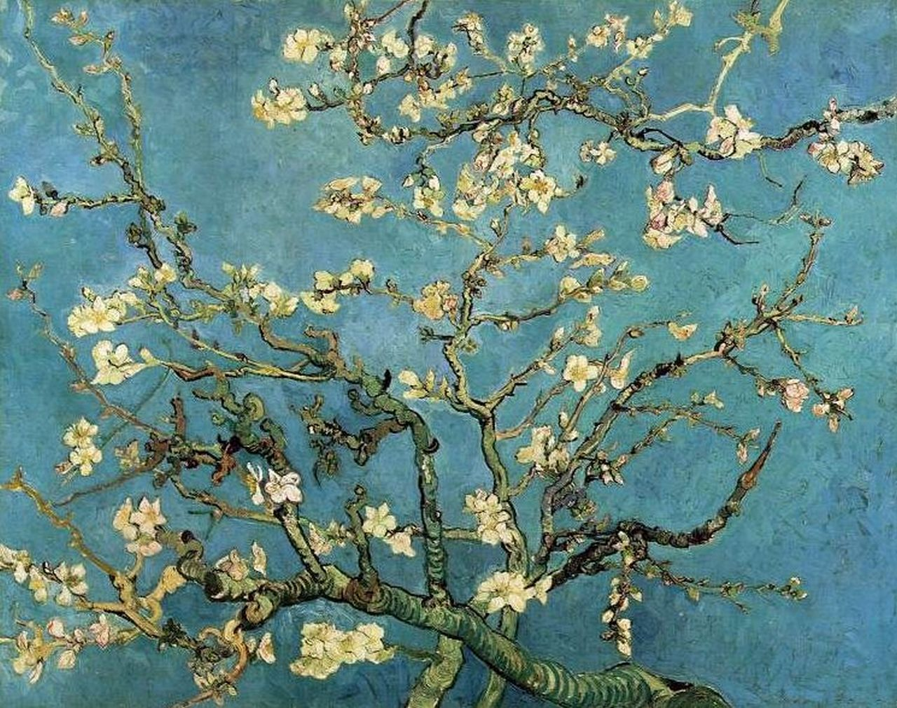 Almond Branches in Bloom – Vincent Van Gogh (1890) | pastnow