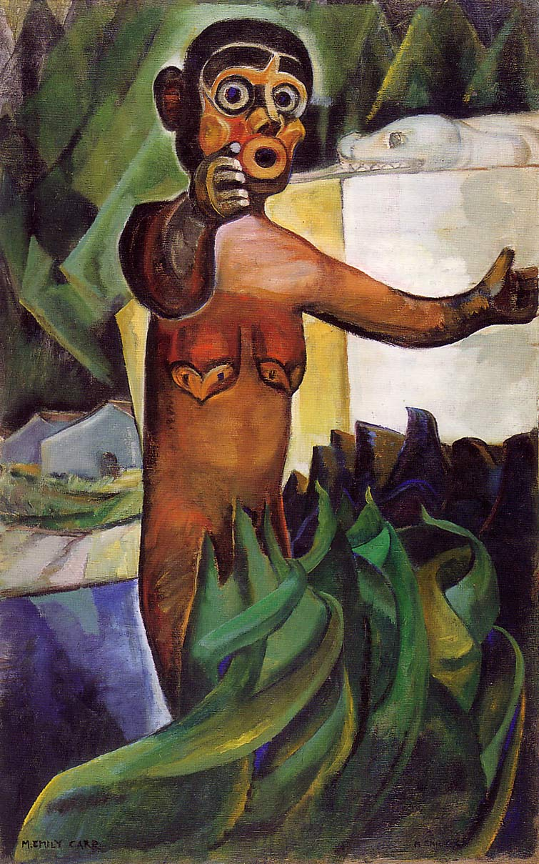 Emily Carr Post Impressionism And The Something Plus