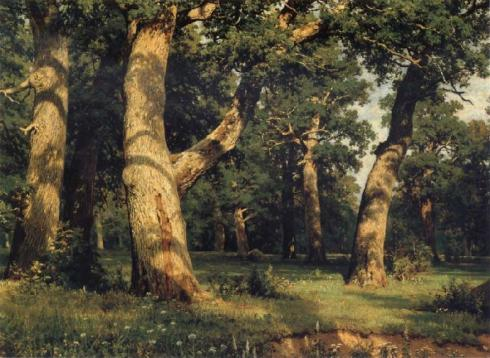 Shishkin-oak-of-the-forest-1887