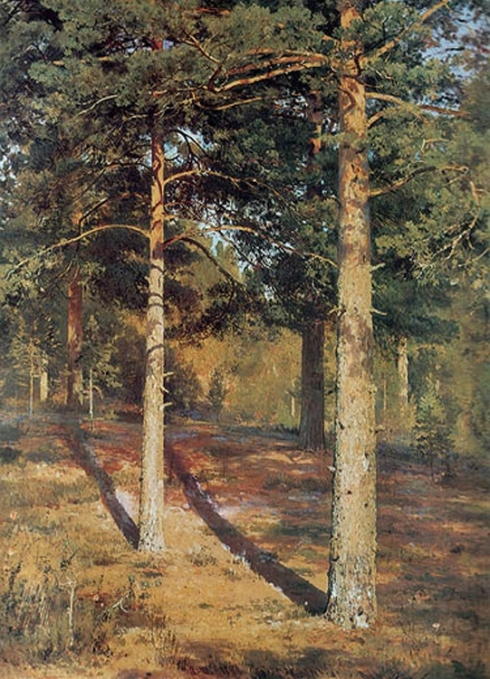 Shishkin-The Sun-lit-Pines-1886