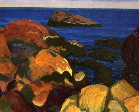 sloan-rocks-and-weeds-1917