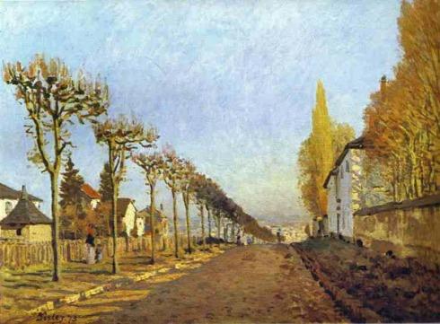 Alfred Sisley, Chemin_de_la_Machine_Louveciennes_1873 2