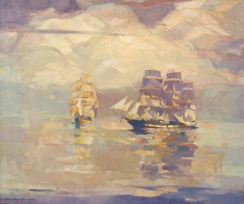 hansen-boats-and-clouds