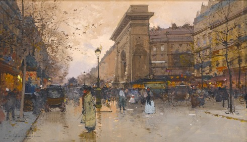 galien-Laloue-Vue-de-Paris-Animee