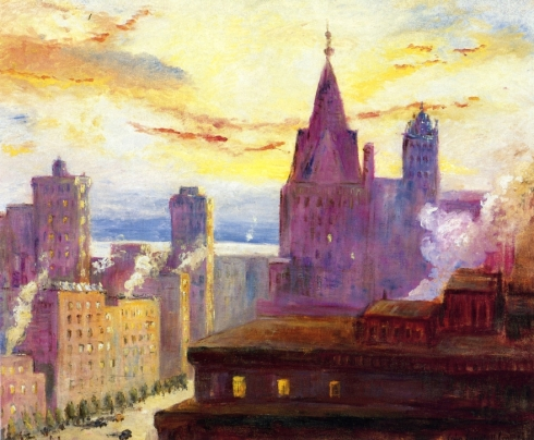 Cooper-xx-Rooftops-at-Sunset-xx-Private-Collection