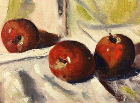 still-life-apples